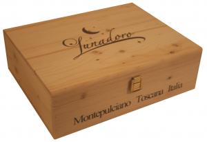 Lunadoro Vino Nobile di Montepulciano Riserva - 3 year Vertical Boxed Set Image