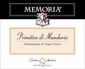 Consorzio Produttori Vini Memoria Primitivo di Manduria Image