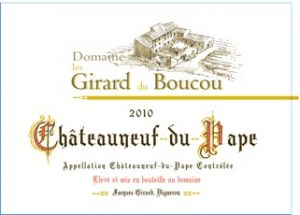 Les Girard du Boucou Chateauneuf-du-Pape Image