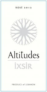 IXSIR Altitudes Rosé Image