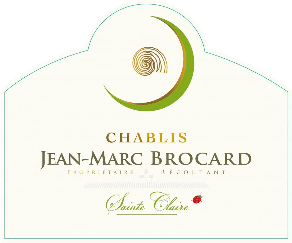 Jean-Marc Brocard Chablis Sainte Claire Image