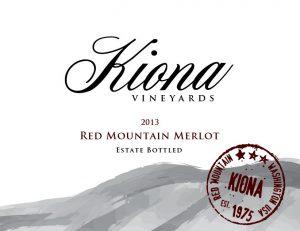 Kiona Estate Red Mountain Merlot Image