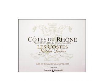 Laudun Chusclan Les Costes Nobles Terres Red AOC Côtes du Rhône Image