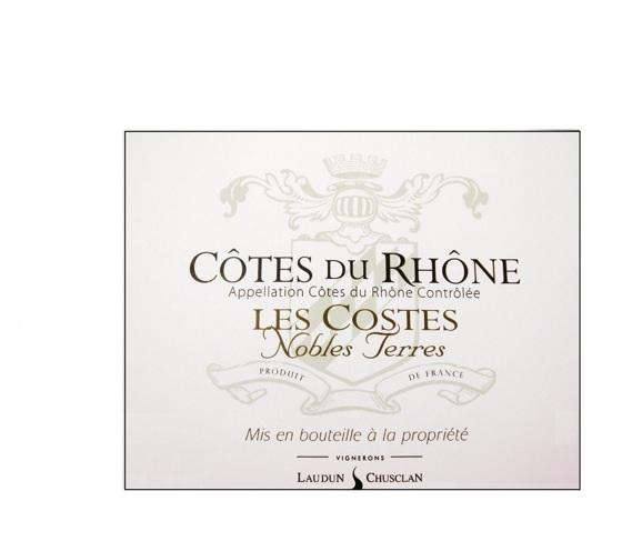 Laudun Chusclan Les Costes Nobles Terres Rosé AOC Côtes du Rhône Image