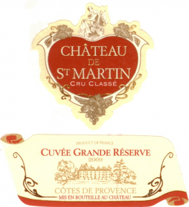 Chateau St. Martin Grande Réserve Rosé Image