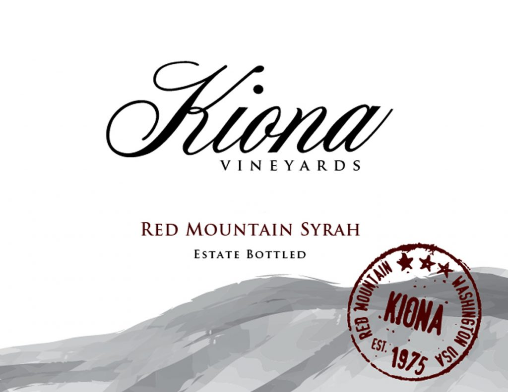 Kiona Estate Red Mountain Syrah Image