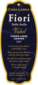 Fiori Vidal Blanc Ice Wine Image