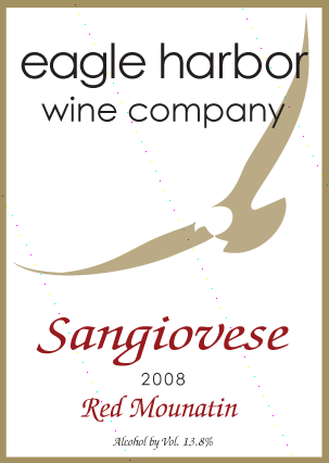 Eagle Harbor Sangiovese Image
