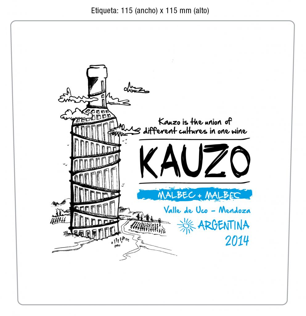 Kauzo Malbec + Malbec 2015 Image