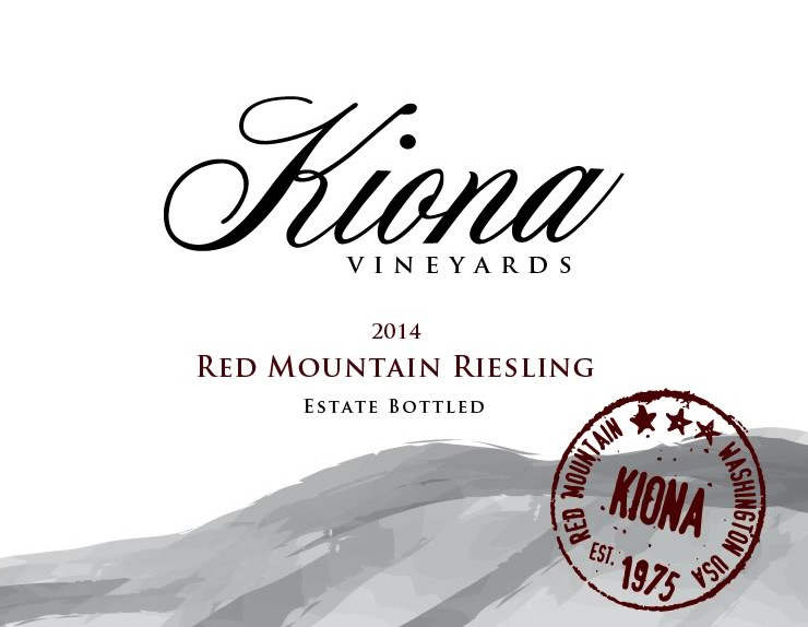 Kiona Estate Red Mountain Riesling Image