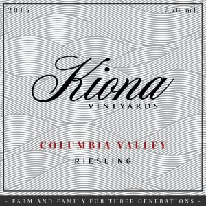 Kiona Columbia Valley Riesling Image