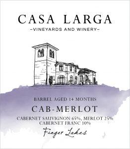 Casa Larga Cab-Merlot Image