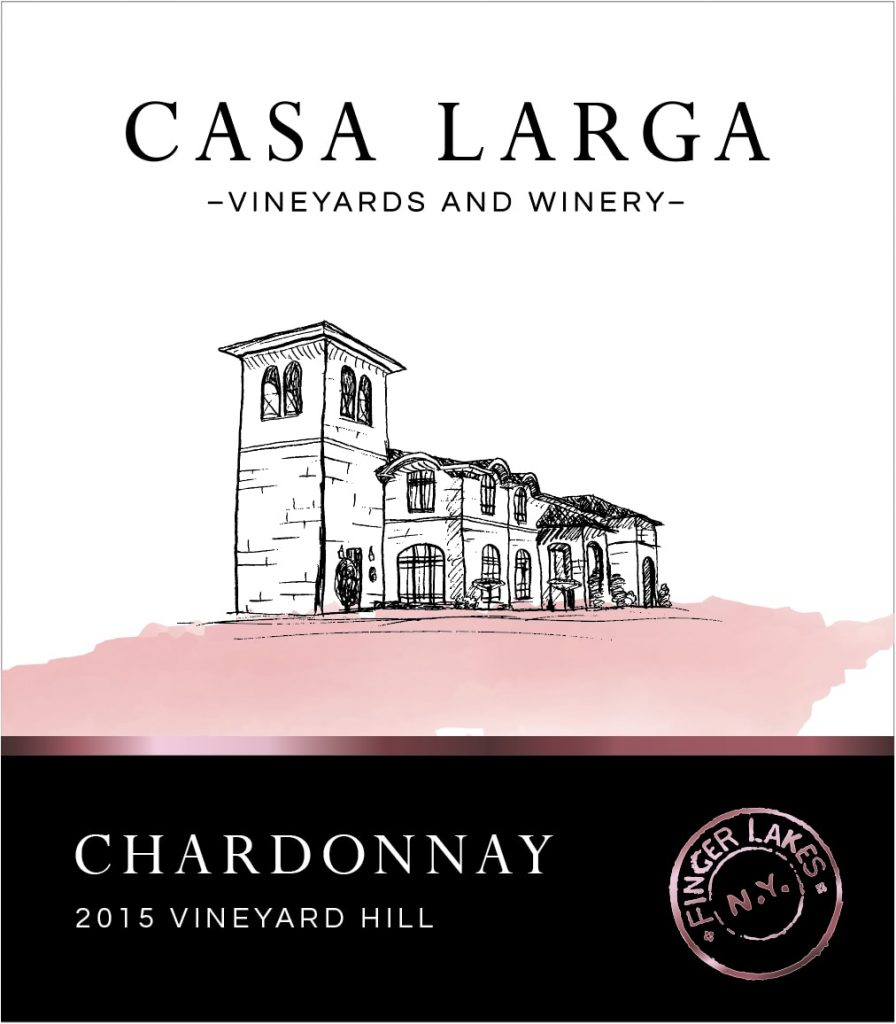 Casa Larga Vineyard Hill Chardonnay Image
