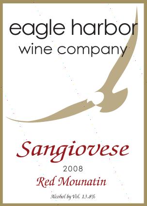 Eagle Harbor Sangiovese Image