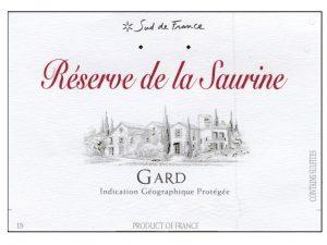 Réserve de la Saurine Laudun Chusclan IGP Gard 2017 Image