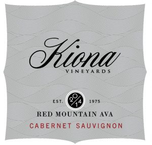 Kiona Estate Red Mountain Cabernet Sauvignon Image