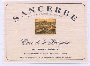 Thierry Veron Sancerre 'Cave de la Bouquette' Image