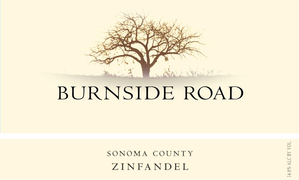 Burnside Road Zinfandel Image