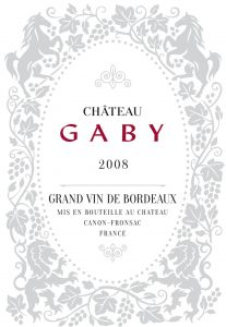 Château Gaby 2010 Canon Fronsac Image