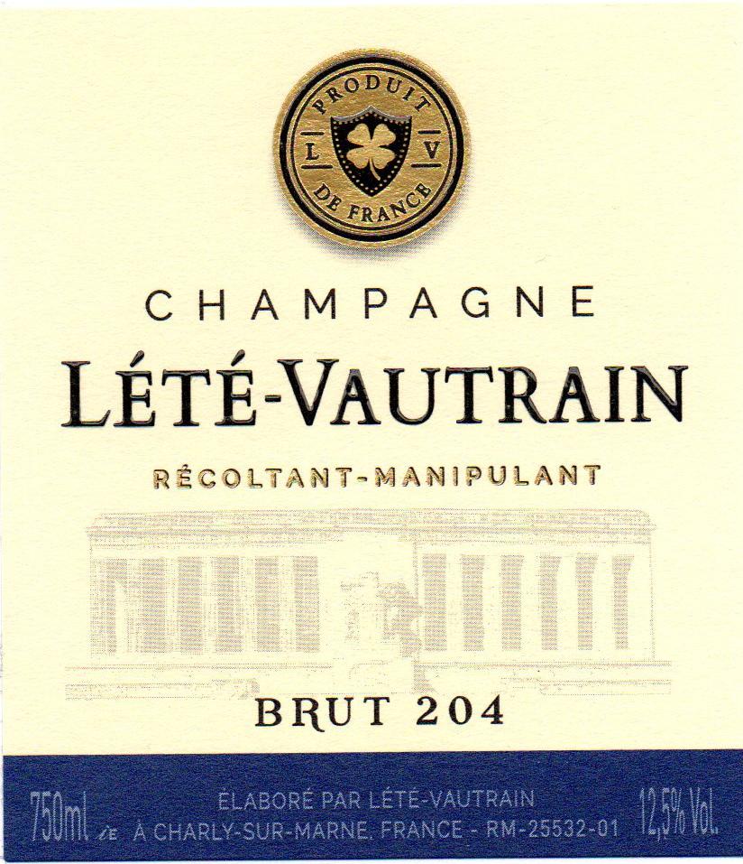 Lété Vautrain Brut 204 Image